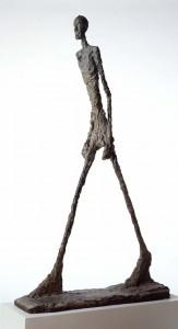 L'Homme qui marche, Alberto Giacometti, 1960