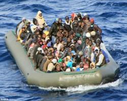 L'image de migrants africains traversant la Mer Méditerranée est en partie faussée...