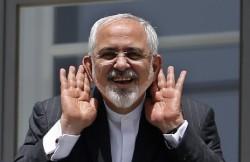 Mohammad Javad Zarif, le ministre des Affaires Etrangères iranien, lors des négociations de Vienne