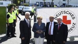La crise des réfugiés, sujet sensible pour la chancelière
