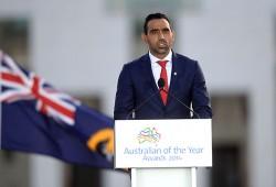 Adam Goodes, nouvelle figure de la communauté Aborigène.