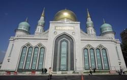 Après des travaux estimés à 170 millions de dollars (financés en majorité par un oligarque originaire du Daguestan), la grande mosquée de Moscou est désormais la plus vaste d'Europe.