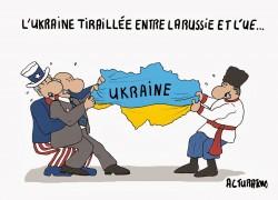 L'Ukraine est devenue le théâtre d'oppositions historiques entre l'Union européenne, les Etats-Unis, et la Russie