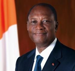 Alassane Ouattara est réélu à la présidence de la Côte d'Ivoire
