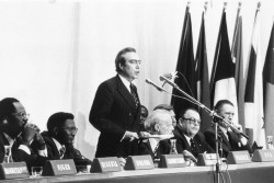 Discours d'ouverture de la première Convention de Lomé (1975)