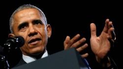 Barack Obama annonçant le déploiement de forces spéciales américaines le 30 octobre dernier : les Etats-Unis ne peuvent laisser la Russie prendre tout le leadership sur la question syrienne et doivent aussi réparer des opérations ratées.