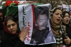 Manifestation des Hazaras en Afghanistan