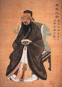 Confucius (Kong Fuzi) a développé il y a plus de deux mille ans une philosophie qui va influencer durablement la Chine