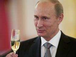 Vladimir Poutine, homme fort de l'année 2015