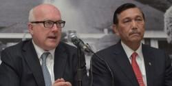 Le ministre australien de la justice et le responsable indonésien de la sécurité