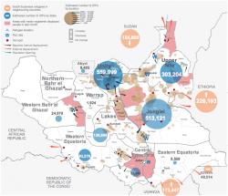Un conflit aux conséquences humanitaires très graves, particulièrement dans le Nord où se trouvent les puits de pétrole
