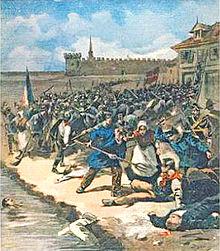 Le massacre d'Aigues-Mortes en 1893 au sein de la Compagnie des Salins du Midi.