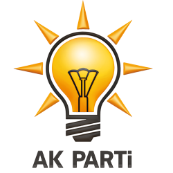 Le loge officiel du parti turc AKP au pouvoir depuis 2002