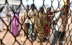 On a voté sans heurt dans le quartier PK5 de la minorité musulmane de Bangui