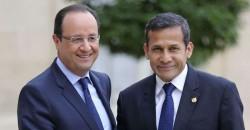 Les présidents français et péruvien, lors de la tournée de François Hollande en Amérique latine.