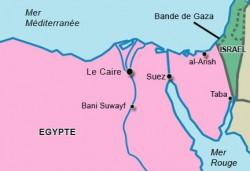 Le Sinaï, une région au coeur du conflit Israélo-palestinien et du combat des soldats de l'EI pour le califat islamique