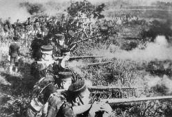 Photographie datant de la guerre du Chaco, l'un des rares conflits ayant survenu en Amérique du Sud