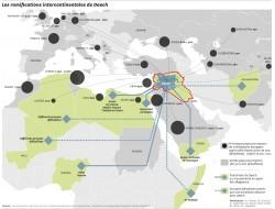Les réseaux de Daech