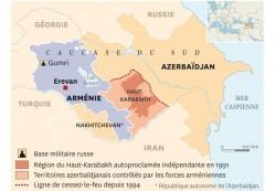 Situation du Haut-Karabakh dans le Caucase