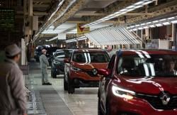 Usine de Renault à Wuhan en Chine