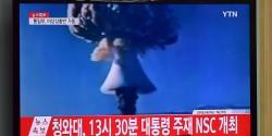 La Corée du Nord a annoncé avoir réussi son premier essai d'une bombe à hydrogène.