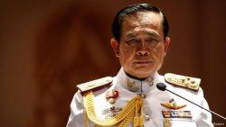 Le général Prayuth Chan-ocha, le nouvel homme fort de la Thaïlande à la suite de son coup d'Etat en 2014