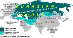 Carte du projet eurasiste