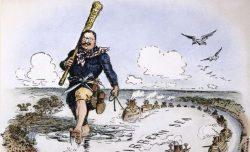"""La """"théorie du bâton"""" de T. Roosevelt, idéologie au coeur de la visée états-unienne sur le continent américain"""