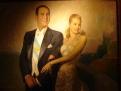 Juan Domingo Perón et sa première épouse, Eva