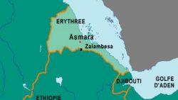 La frontière entre l'Erythrée et l'Ethipie
