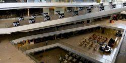Centre Commercial de la capitale Caracas, fermé pour économiser l'électricité. (Federico Parra / AFP)