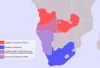 De l'Angola à l'Afrique du Sud, des espaces sous tension