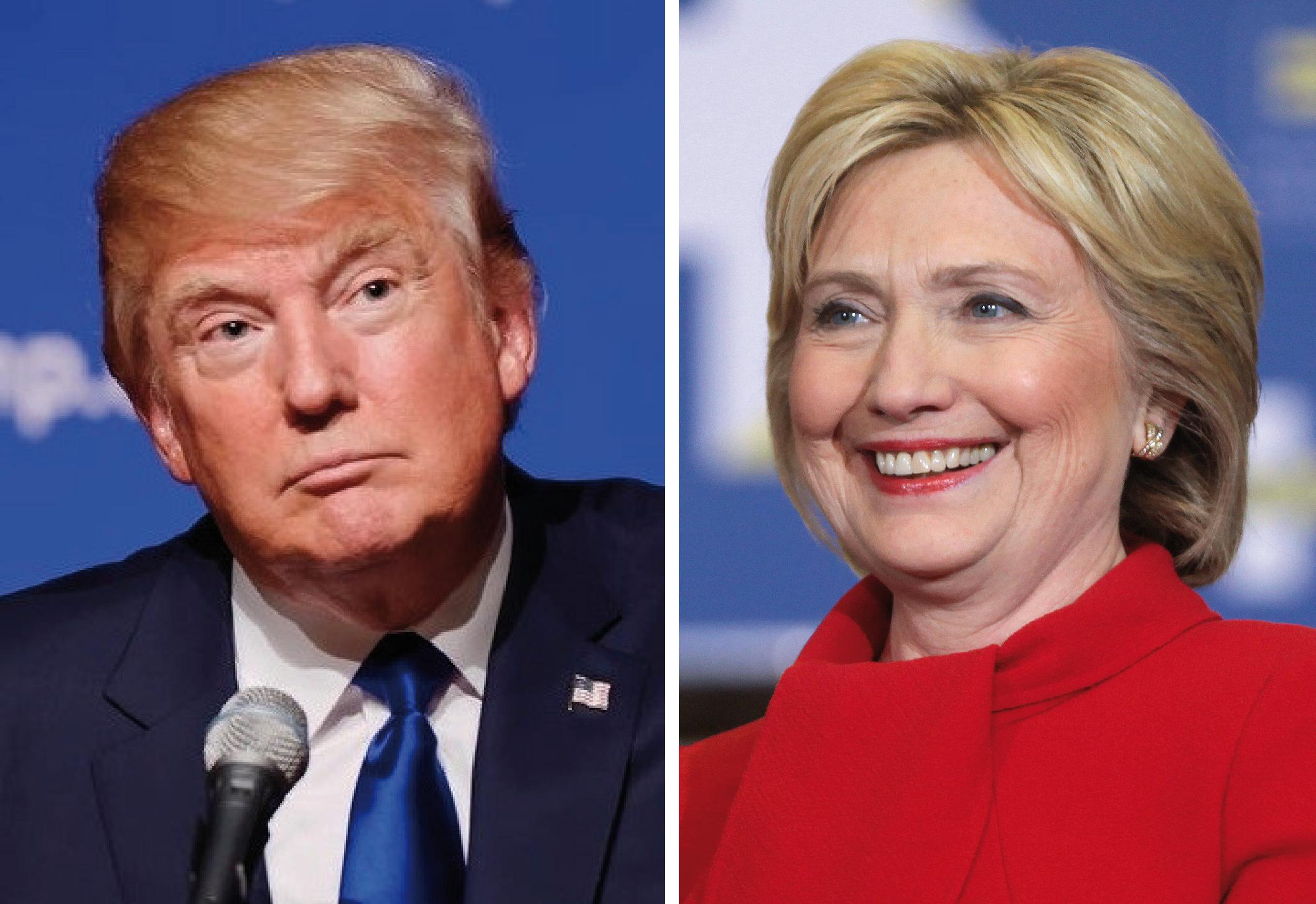 Hillary Clinton et Donald Trump se sont affrontés lors d'un débat télévisé, durant lequel l'asymétrie de compétences entre les deux candidats a été flagrante. Cependant, la course reste très serrée.