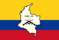 Logo des Fuerzas Armadas Revolucionarias de Colombia - Ejército del Pueblo (FARC-EP)