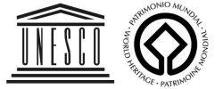 Logo de l'UNESCO et du label Patrimoine mondial