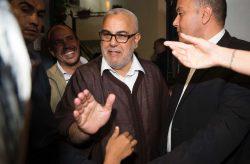 Abdelilah Benkirane , après la victoire du PJD le 8 octobre