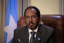 """Hassan Sheikh Mohamud, actuel """"président"""" de la Somalie"""