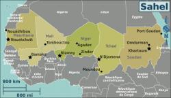 Le Tchad au cœur de la poudrière du Sahel.