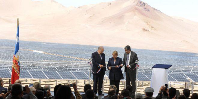 Le pari solaire du Chili