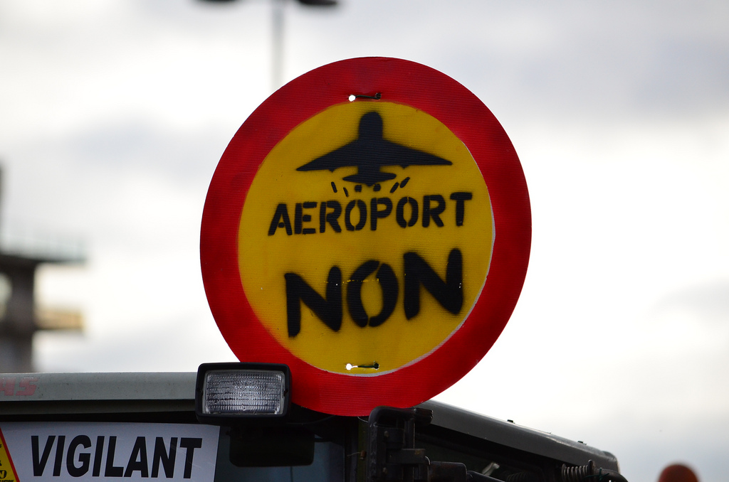 Manifestation à Notre-Dame-des-Landes contre la construction du nouvel « Aéroport du Grand Ouest »