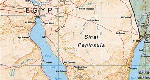 Sinaï, Egypte, attentat