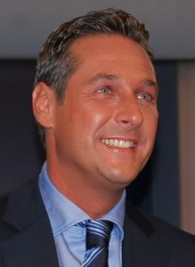 Heinz Christian Strache, chef FPÖ