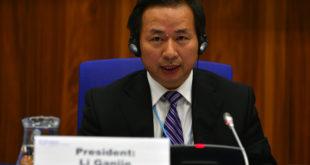 Li Ganjie, Ministre de l'environnement chinois.