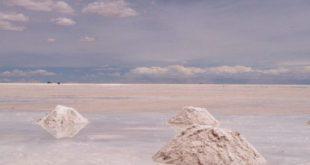 Désert d'Uyuni en Bolivie qui concentre les principales ressources en lithium mondiale