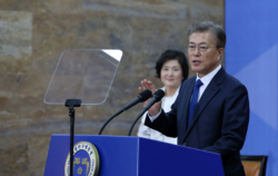 Moon Jae-in, leader sud-coréen.