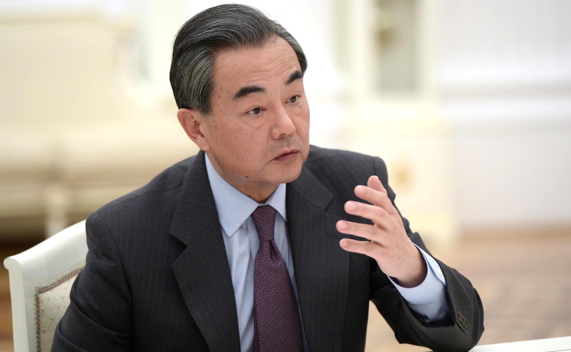 Wang Yi, Ministre des Affaires étrangères chinois, s'est entretenu dimanche avec son homologue japonais.