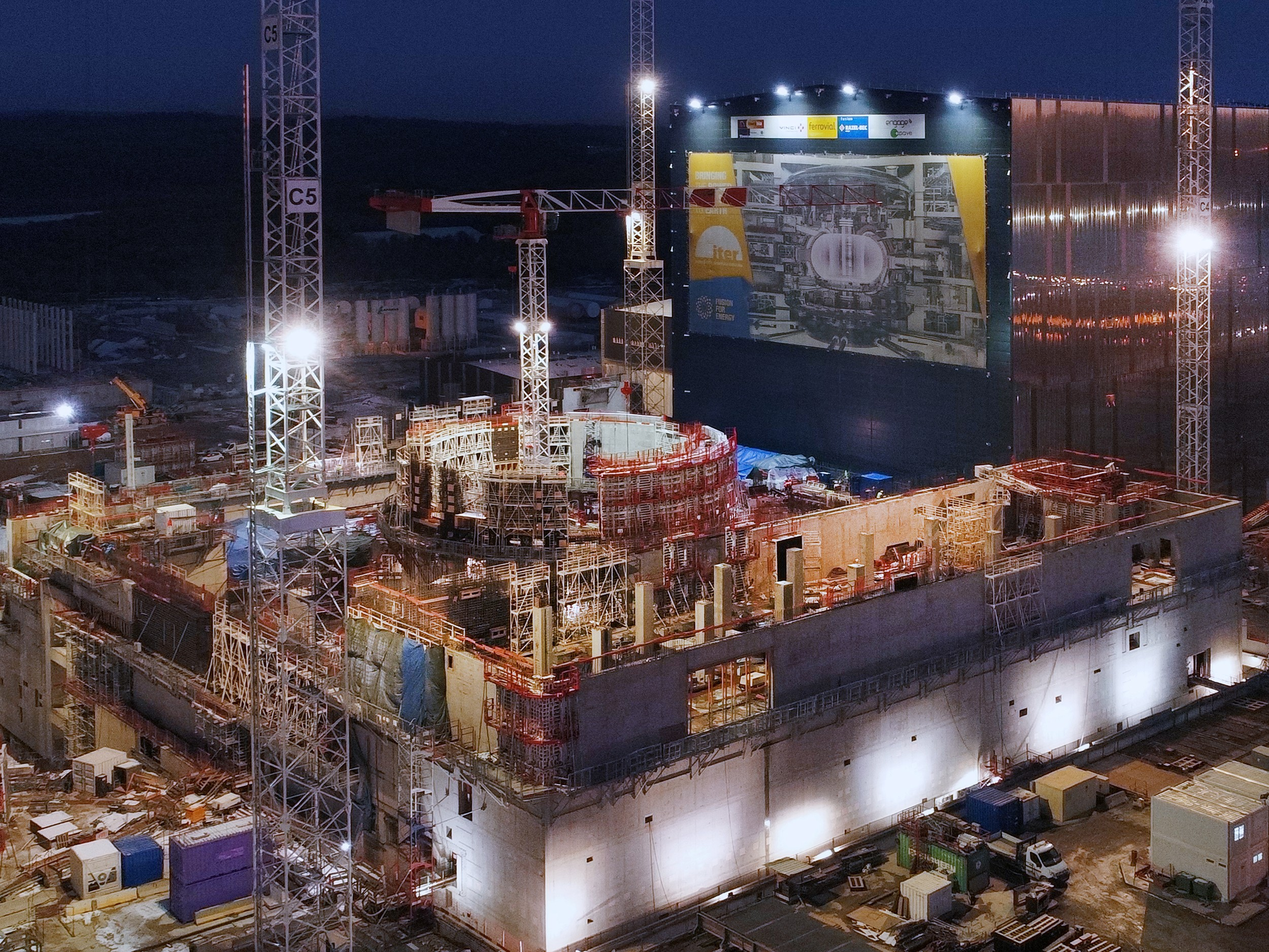 Le projet Iter, un chantier immense.