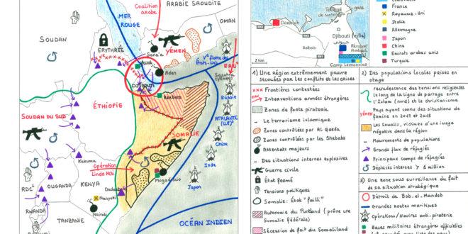 Afrique de l'Est et golfe d'Aden – Mind the Map