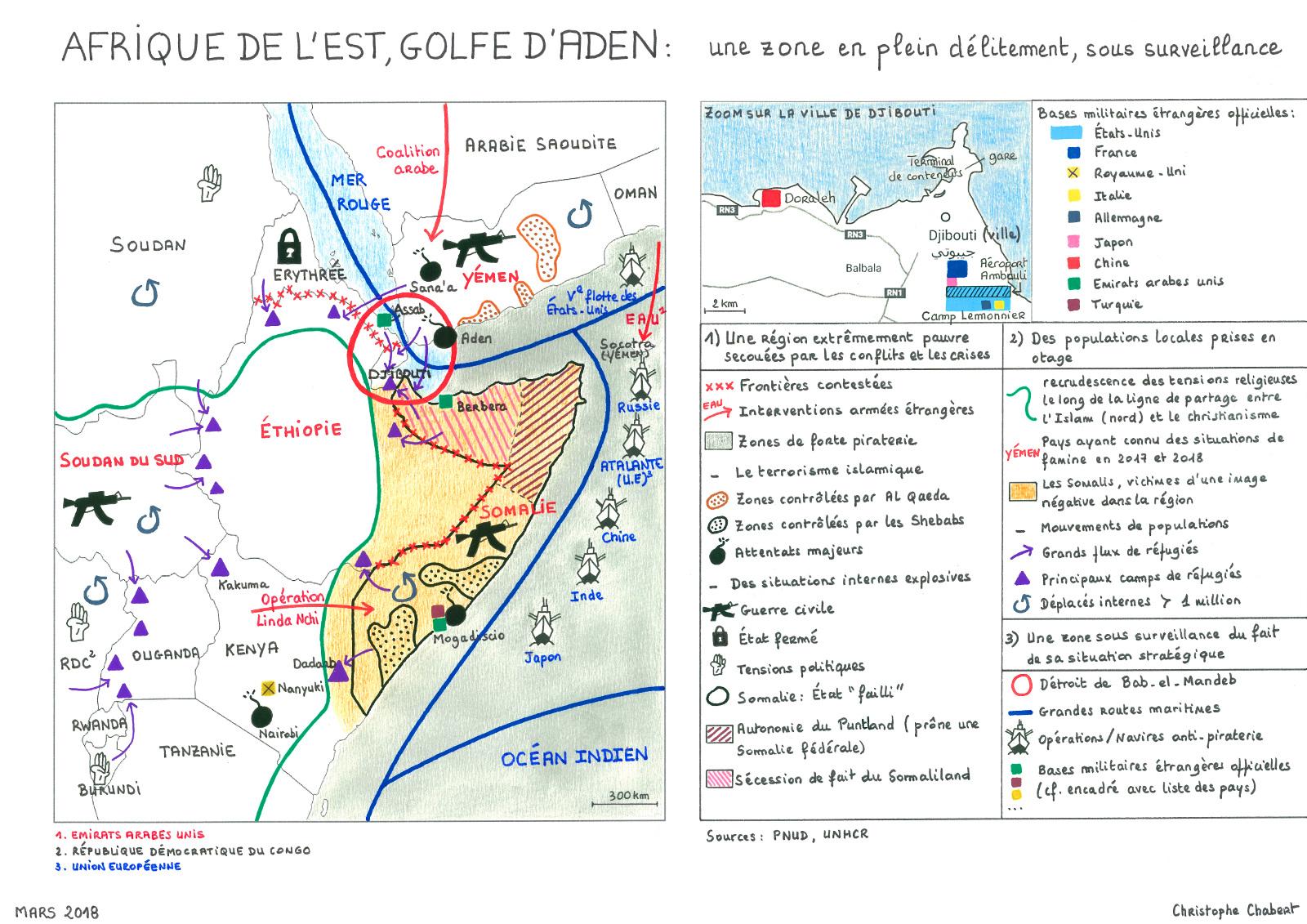 Afrique De Lest Et Golfe Daden Mind The Map Les Yeux Du Monde