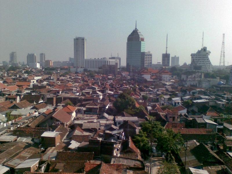 Surabaya, seconde ville d'Indonésie.
